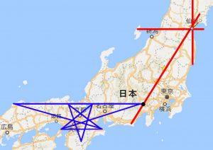 17日本列島レイライン拡大