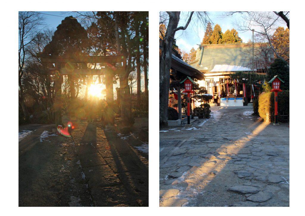 45愛宕神社から見た冬至の日の出2